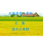 花象 2.5kg 送料無料!北海道産小麦として高い評価を受けている小麦粉を100%使用した強力小麦粉です。
