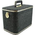 ショッピングブラックボックス 母の日のギフトに。メイクボックス、コスメボックス ハンプ33cmブラック 化粧入れ、メークボックス