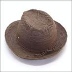 ショッピングヘレンカミンスキー ヘレンカミンスキー Fai/Sepia ≪2015SS≫ファイ フェドーラハット 丸めて収納可能なラフィア製ローラブルハット レディース中折れ帽子