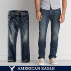 アメリカンイーグル/メンズ/American Eagle/SLIM STRAIGHT/デニム/ジーンズ/ジーパン