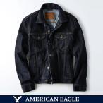 アメリカンイーグル/メンズ/アウター/ダークブルー/AE デニムジャケット/ジージャン/アメカジ
