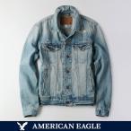 アメリカンイーグル / メンズ / アウター / AE デニムジャケット / アメカジ / ダメージ加工 / ライトブルー