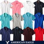 メール便 送料無料 アメリカンイーグル メンズ 半袖 ポロシャツ 人気 ブランド 春 夏 S M L サイズ