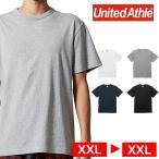 Tシャツ 半袖 メンズ バインダーネック ヘビー オープンエンド 6.0oz XXL サイズ ブラック ビック 大きいサイズ