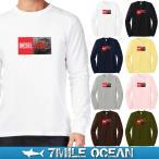 メール便 送料無料 7MILE OCEAN メンズ 長袖 Tシャツ ロンT ロングTシャツ 無地 ディーゼル 機関車 DIESEL LOCOMOTIVE 鉄道 DE10 型