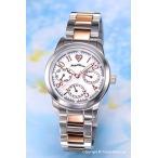 エンジェルハート 腕時計 レディース Angel Heart CE30RSW Celeb (セレブ) PG(コンビ) ホワイトパール