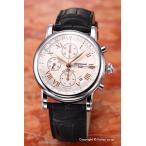 モンブラン 腕時計 メンズ MONT BLANC スター クロノグラフ GMT シルバー 36967