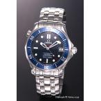 OMEGA オメガ 腕時計 シーマスター300m クロノメーター ブルー ボーイズ 2222.80