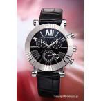 ショッピングティファニー ティファニー 腕時計 Atlas Chronograph ブラック/ブラックアリゲーター ボーイズ Z1301.32.11A10A71A