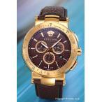 ヴェルサーチ 時計 メンズ VERSACE ミスティック スポーツ クロノグラフ ブラウン×ローズゴールド VFG06 0013