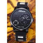 ロエン×エンジェルクローバー 腕時計 メンズ Special Collaboration 限定モデル ブラック RO48BK-BK