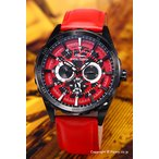 ロエン×エンジェルクローバー 腕時計 メンズ Special Collaboration 限定モデル レッドカモフラージュ×ブラック ROL45BRE-RE