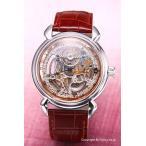 アルカフトゥーラ 腕時計 メンズ ARCA FUTURA オートマチック スケルン シルバー×ローズゴールド 309SB-BR