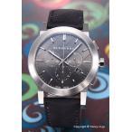 バーバリー 腕時計 メンズ The City Chronograph(シティ クロノグラフ) ガンメタル/ビートチェックレザー BU9362