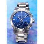 バーバリー 腕時計 メンズ BU9363 The City クロノグラフ ブルー