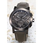 バーバリー BURBERRY 腕時計 シティ クロノグラフ ダークグレー BU9364
