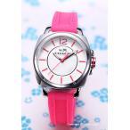 ショッピングコーチ コーチ 腕時計 レディース COACH 14502151 Boyfriend ミニ ホワイト(フルオピンク)