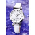 ショッピングコーチ コーチ 腕時計 レディース COACH 14502536 1941スポーツ シルバー/ホワイトレザー