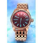ディーゼル 腕時計 レディース DIESEL DZ5451 Kray Kray 38 (クレイクレイ) ブラックポラライザー×ローズゴールド