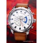 ディーゼル 腕時計 メンズ DIESEL DZ4357 ストロングホールド ホワイト(ブルーポイント)
