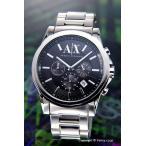 ショッピングアルマーニ アルマーニエクスチェンジ 時計 メンズ Armani Exchange アウターバンクス クロノグラフ ブラック AX2084