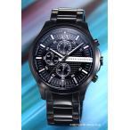 アルマーニエクスチェンジ 腕時計 メンズ Armani Exchange AX2138 ハンプトン クロノグラフ オールブラック(シルバーポイント)