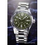 ハミルトン 腕時計 HAMILTON H70595163 カーキ フィールド オート ミリタリーグリーン