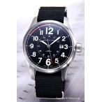 ハミルトン 腕時計 HAMILTON メンズ H70615833 Khaki Officer Auto(カーキオフィサーオート) ブラック