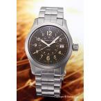 ショッピングハミルトン ハミルトン HAMILTON 腕時計 Khaki Field (カーキ フィールド) ブラウン H68201193
