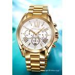 ショッピングマイケル マイケルコース MICHAEL KORS 腕時計 メンズ レディース ブラッドショー クロノグラフ シルバー×ゴールド MK6266