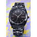 ニクソン NIXON 腕時計 タイムテラー アセテート ブラック/シルバー/マルチ A3272185
