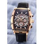 ゾンネ SONNE 腕時計 ゾンネ×ハオリ 岩城滉一 コラボレーションモデル ブラック×ピンクゴールド H018PG-BK