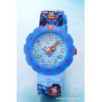 スウォッチ 腕時計 ZFLSP004 Flik Flak(フリックフラック) Superman's Back In Town (スーパーマンズ バック イン タウン)