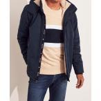 ホリスター ジャケット メンズ アウター コート ウィンドブレイカー ブラック 大きいサイズ xl xxl おしゃれ 人気 アバクロ