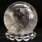 レインボーレムリアン水晶43mm球(天然石 パワーストーン 球体 水晶球)
