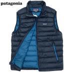 新品patagonia/パタゴニア/ダウンセーターベスト/Navy Blue