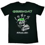 新品/海外正規オフィシャル/GREEN DAY/BASKET CASE/Tシャツ/黒【ネコポス対応】