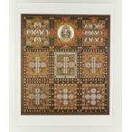仏画ポスター 金剛界曼荼羅 81025(和室 床の間 仏画ポスター 額縁 仏教)