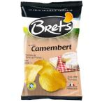 Brets ブレッツ ポテトチップス カマンベールチーズ 125g×10袋(ポテトチップス メーカー 高級品 箱買い スナック菓子 おやつ おつまみ セット ギフト)