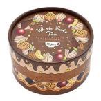 ホールケーキティー チョコレートナッツケーキ 2g×10包入 6セット(フレーバーティー 紅茶 ティーバッグ パーティ ギフト)