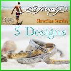 新作 Ed Hardy  ハワイアンジュエリー ペアバングル 単品販売 メンズ レディース S Mサイズ エドハーディー ブレスレット ステンレス