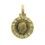 純金 ツバル ホース コイン 1/25oz ペンダント3g K18 アトラス E2ng
