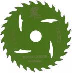 丸ノコ 替刃 125mm 28P 一般木材 チップソー 木工用 充電 電動丸鋸 翠 トリガー 1枚の画像
