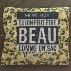 モノプリ エコバッグ フラワー MONOPRIX フランス