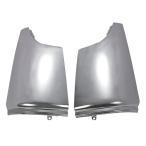 三菱ふそう 2t NEW キャンター (平成5年11月〜平成14年6月) メッキ コーナーパネル 左右セット 台湾製
