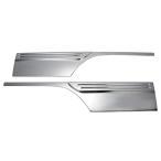 いすゞ NEW エルフ 超低PM エルフ 標準・ワイド共通 (平成5年7月〜 ) メッキ ドアパネル[貼り付け] 台湾製
