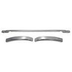 三菱ふそう NEWスーパーグレート 平成19年4月〜 標準キャブ メッキ バンパー エクステンション 台湾製