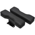ハイエース 200系 ドア アームレスト ブラック 2個セット サイド 肘置き 小物入れ 1型 2型 3型 4型 5型 トヨタ KDH200 TRH200
