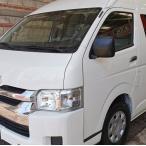 トヨタ純正 ハイエース 200系 助手席側 コーナーパネル 未塗装 日本製 海外仕様 輸出仕様 左側 左 ナロー ワイド ミラーレス KDH200 TRH200