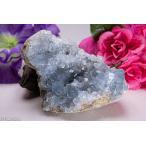 天然セレスタイト原石 551g ジオード 晶洞 ドーム パワーストーン 天然石 ...